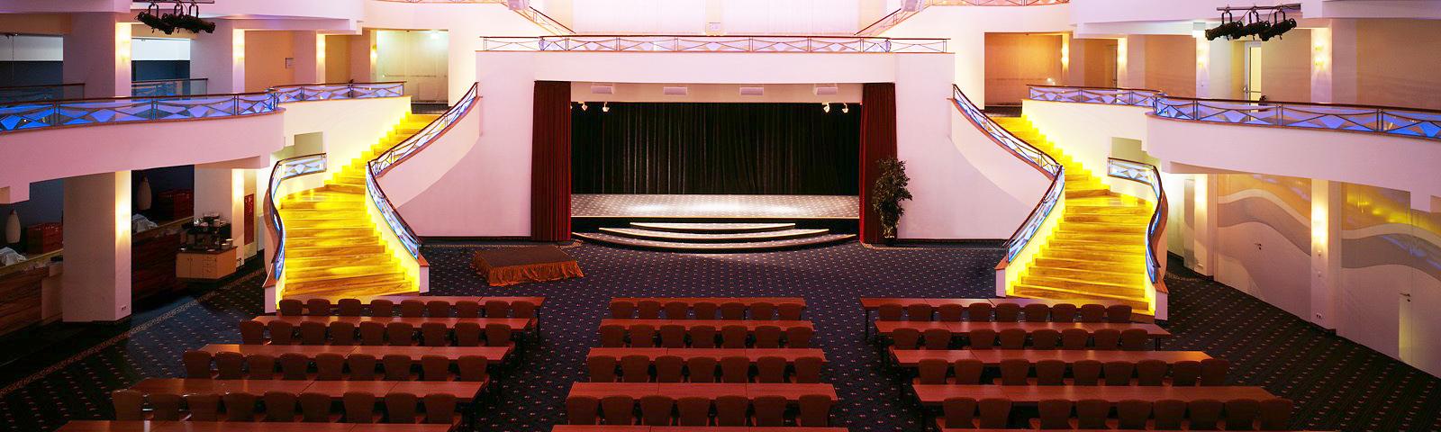 BHKW 2017 - Bild vom Festsaal Palazzo des Kongresshotels LaStrada